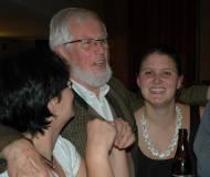 Initiator Fritz Gostner genießt den Abend