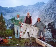 Josef und Franz Brunner mit Fritz Gostner wissen alle Hebel einzusetzen