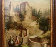 Ölgemälde der Burg Thaur, 1703