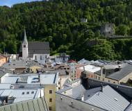 Blick über die Dächer der typischen Inn-Salzach-Stadt.