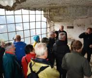 Beeindruckender Geschichteunterricht in den Tunneln dieser Festungsanlage.
