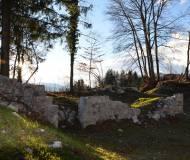Die Grundmauern des Pallas