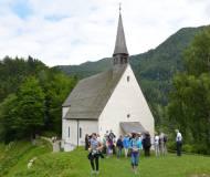 Die Kapelle auf dem 'Streichen' ist ein Besuch wert.