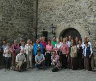 Gruppenfoto in Burg Taufers