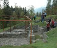 Die rätische Siedlung am Himmelreich