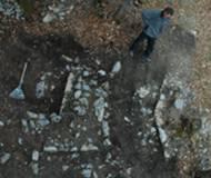 Franz Brunner entdeckte die ersten Spuren dieser Burg
