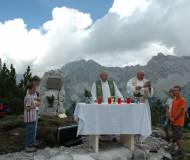 Altbischof Stecher zelebrierte die Messe