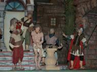 Geißelungszene auf der Fastenkrippe im Romedikirchl