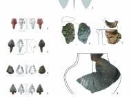 Eine Auswahl der Funde aus der Abfallgrube